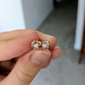 10k Yellow Gold PSCO Stud Earrings